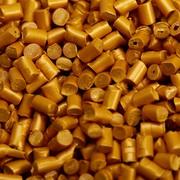 Мастербатч золотистый для окрашивания емкостей и флаконов